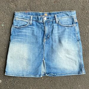 7 For All Mankind Distressed Winston Skirt Size 29